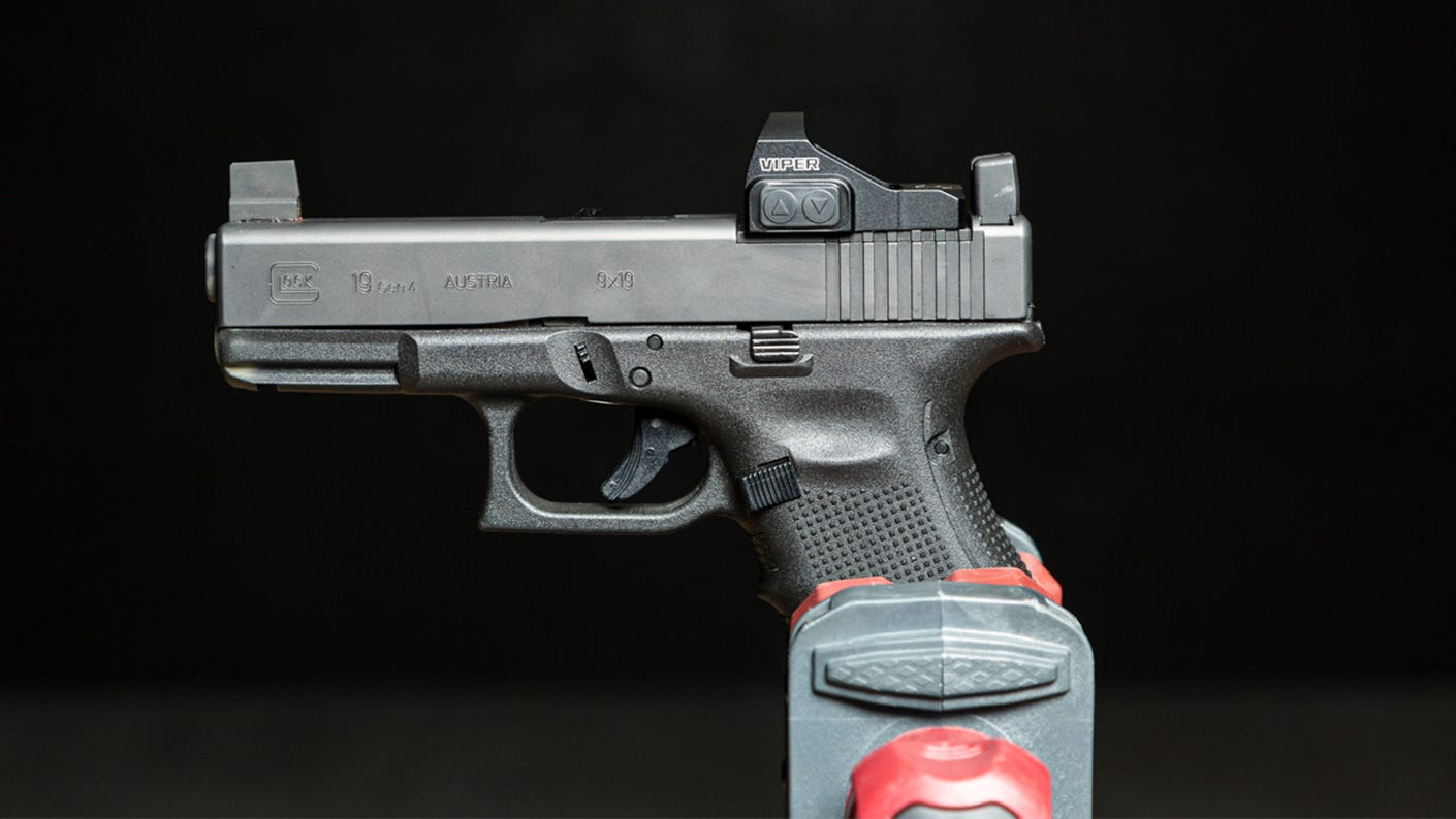 Viper Red Dot On A Pistol