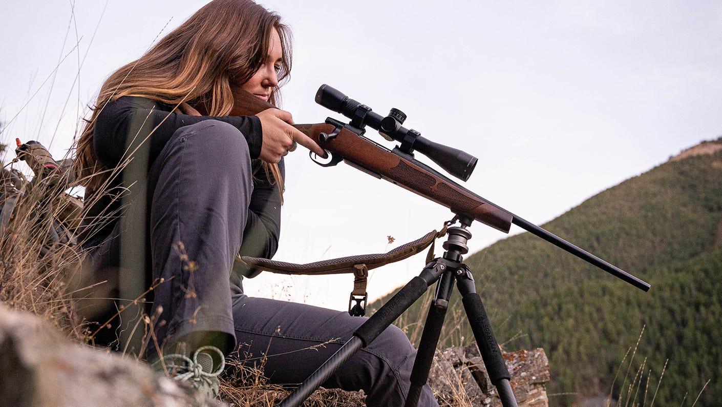 Katie Marchetti Rifle Hunting