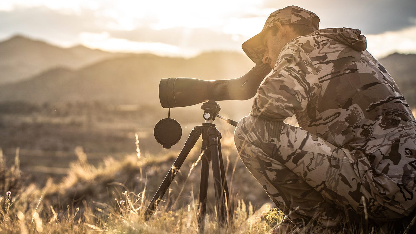 New High Country II with a Spotting Scope