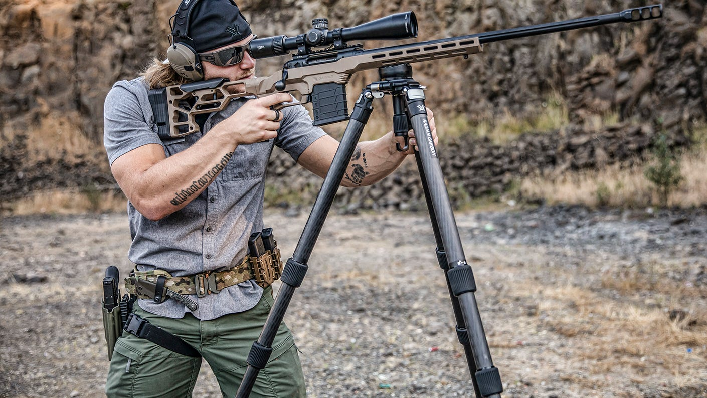 New Radian Carbon with Precision Riflescope