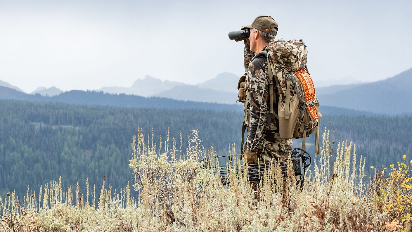 Wide-open vistas and whiffs of sage and ponderosa pine inspire this bowhunter.