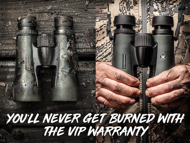 VIP Warranty Damaged Binocular Covered
