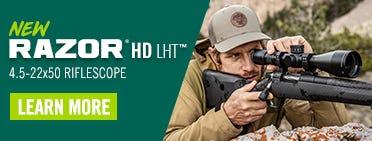 New Razor HD LHT Riflescope